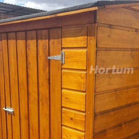 Detalle armario para jardin Albecove 170x82cm, 12mm