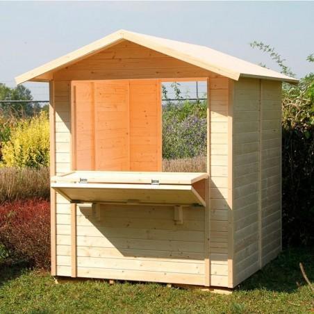 kiosco de madera Mojito - Kiosco Playa
