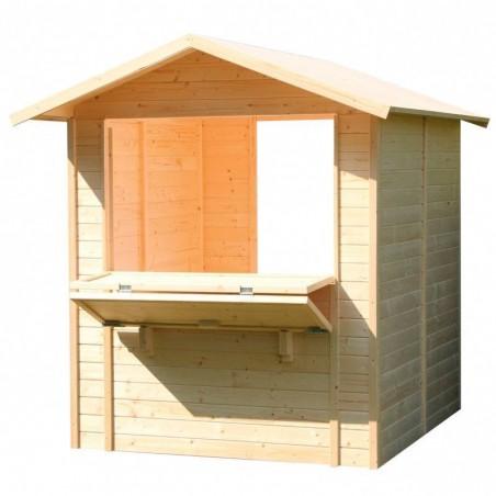 kiosco de madera Mojito - Kiosco Helados
