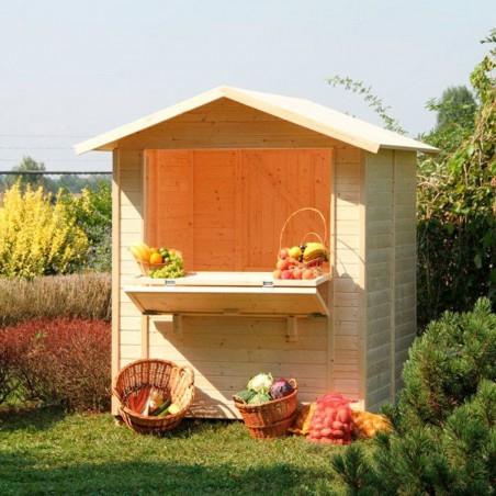 kiosco de madera Mojito - Kiosco Jardín
