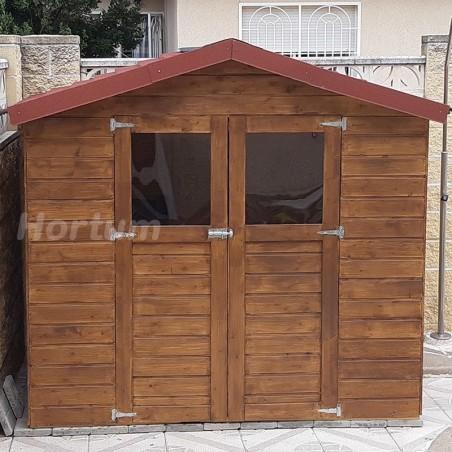 Caseta de madera Lode. 12 mm, 212 x 182 cm, 3.85 m² | Caseta jardín