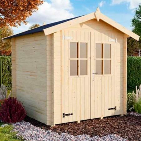 Caseta madera Brunico 18mm. 180x180 cm. 3,3m²