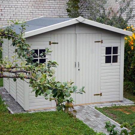 Cobertizo de madera Dan. 16 mm. 273 x 280 cm. 7 m²