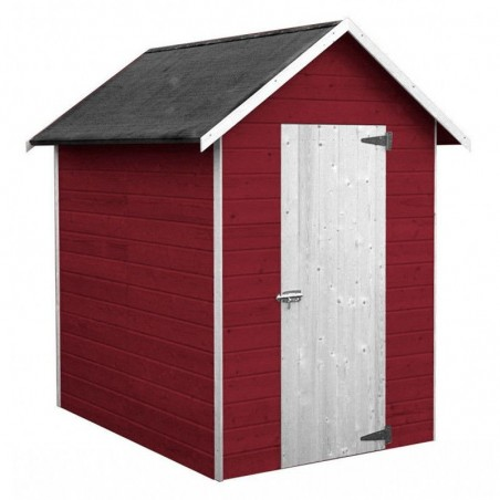 Caseta de madera para jardín Ambeal - pintada