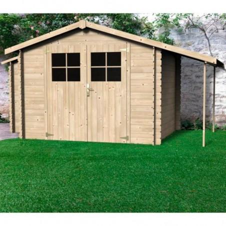 Caseta de madera Talcy, 19 mm. 270 x 230 cm. 6.16 m²