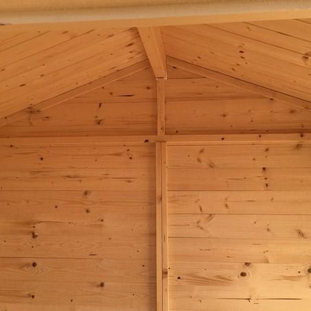 Interior caseta de madera Juliette. 12 mm, 200 x 136 cm. 2.72 m²