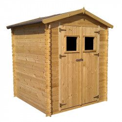 Cobertizo de madera Alexander II - 5m²