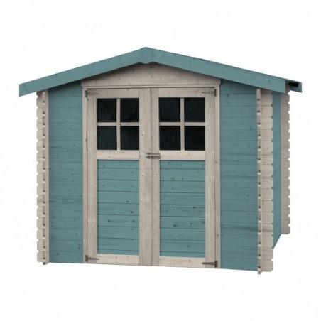 Caseta de madera Milovic azul
