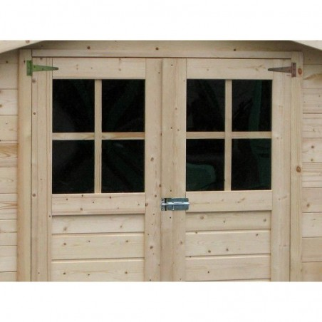 Detalle caseta de madera Milovic  209 x 209 cm