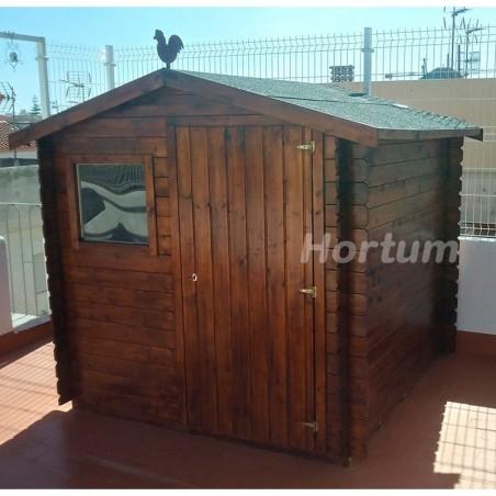 Caseta madera Milan19 mm,  209 x 209 cm. 4.37 m²