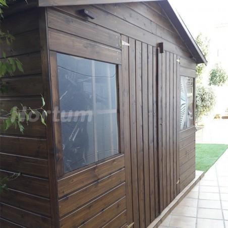 Caseta de jardin Lopun | Decort et Jardin |  12 mm, 272 x 182 cm. 4.96 m²