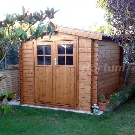 Caseta de Jardín, utilizada como cobertizo. Caseta Hortum