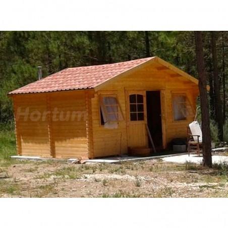 Caseta de madera con teja asfáltica Forvick