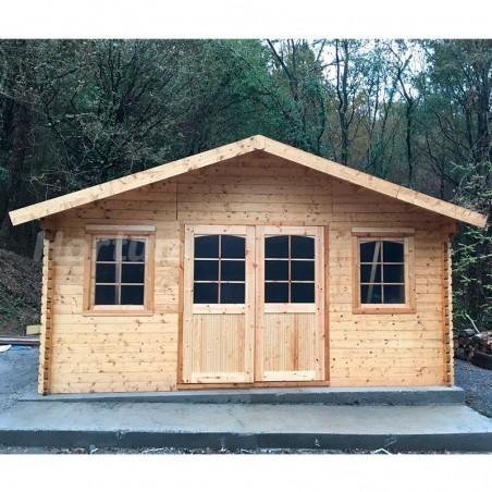 Casa de madera Forvick ✔️ Mejor Precio