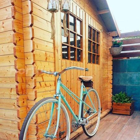 Caseta de madera para jardín Flodova. 28 mm, 300 x 200 cm, 5.9 m²