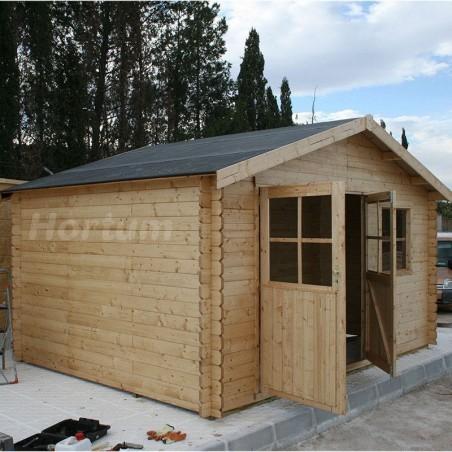 Caseta de madera para el jardín Manil - Flodeal