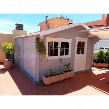 Caseta de jardin Validik 15m². Pintada