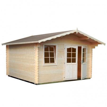 Caseta madera para jardín Emma 34 mm