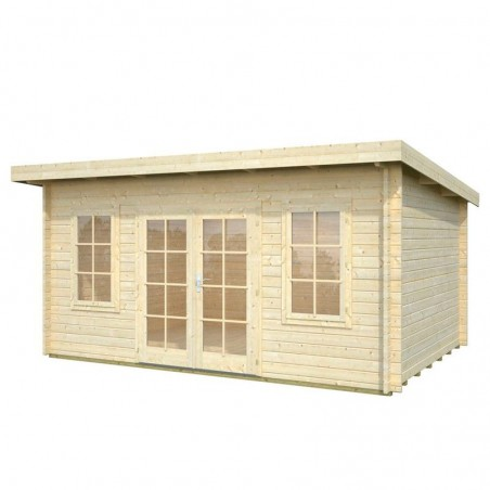 Caseta madera jardín Lisa 470 x 350 cm. 14,2 m²
