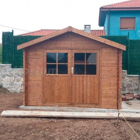 Caseta Barine Tratada. 34 mm , 300 x 300 cm. 8,88 m²