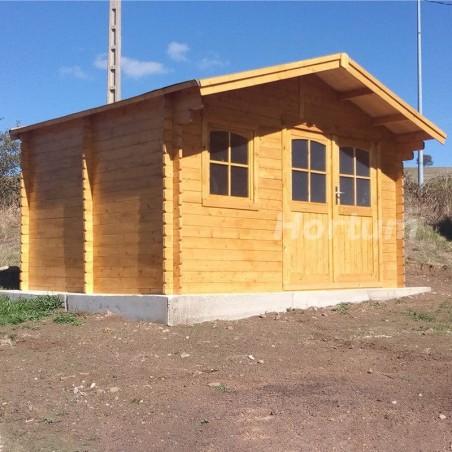 Caseta de madera Valodan. 34 mm, 386 x 286 cm, 11.04 m²