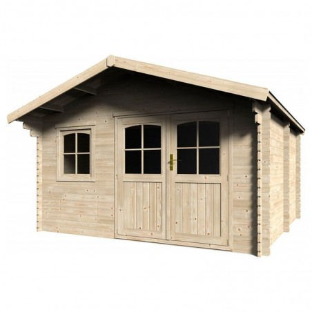 Caseta de madera Valodrak 14.9m²