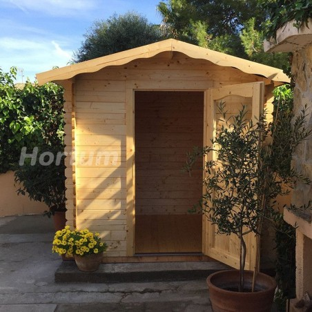 Caseta de madera para jardín Vivian