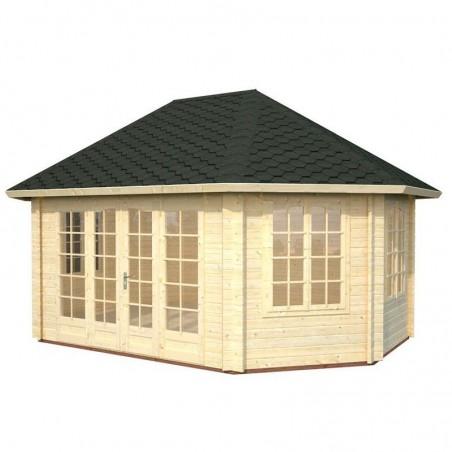 Cenador de madera Hanna 44 mm | 20.3 m²