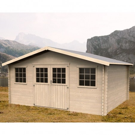 Caseta madera Arica. 28 mm. 478x398cm. 19.02m²