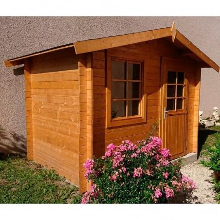 Caseta de madera Klara, 28 mm, 300 x 200 cm, 4.7 m²