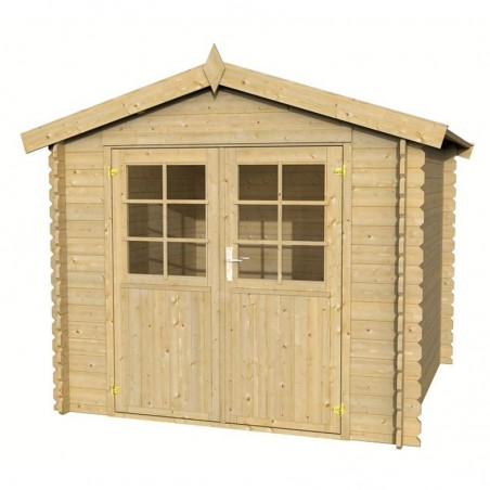 Caseta de madera Pila 250 x 250 cm. 5m²