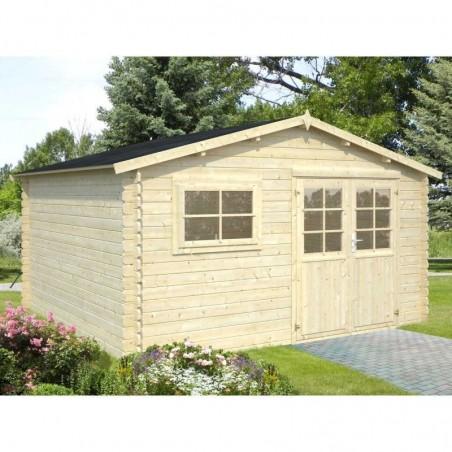 Caseta de madera Luca. Montaje disponible por Hortum