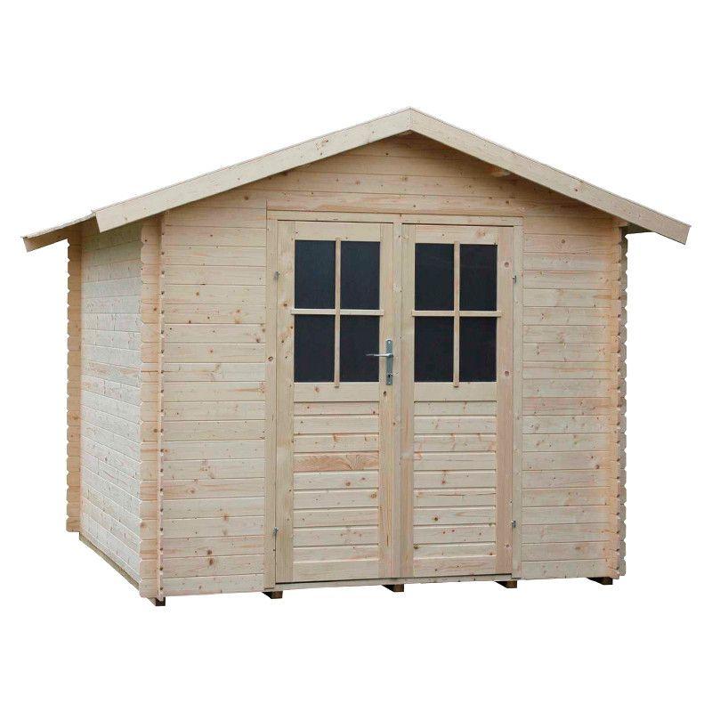 Caseta de madera - Adele Doble Puerta - Suelo incluido