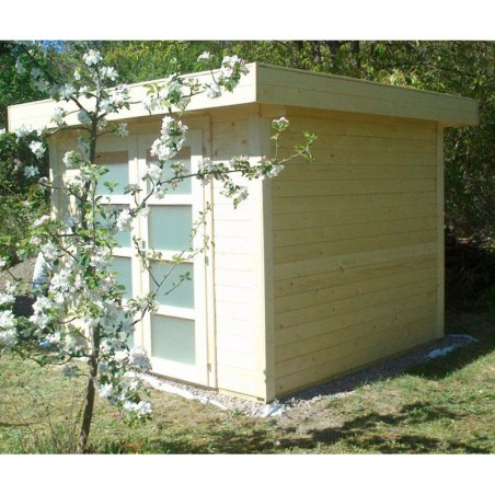 Caseta de madera Lara. 28 mm, 250 x 250 cm. 6 m²