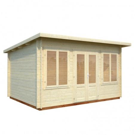Caseta para jardín Lisa, 34 mm, 420 x 320 cm. 11,5 m²