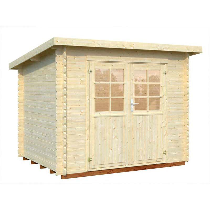 Caseta madera Mary, 28mm, 270 x 220 cm, 4.8m²