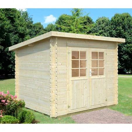 Caseta jardín Mary, 28mm, 270 x 220 cm, 4.8m²