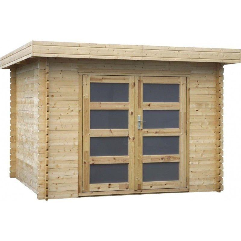 Caseta de madera Plodoreal. 28 mm, 298 x 298 cm. 8.88 m²