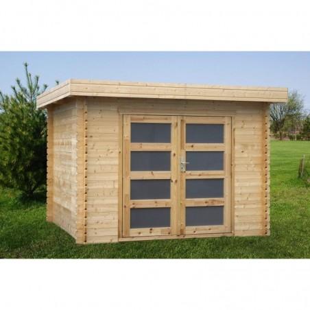 Caseta madera Plodoreal. 28 mm, 298 x 298 cm. 8.88 m²