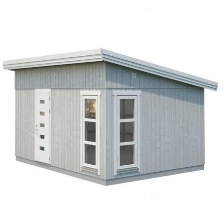 Caseta de madera estilo nórdico Etta 13,6m²