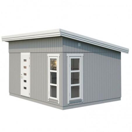 Caseta de madera habitable Etta 13,6m²