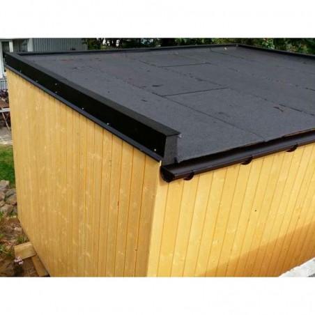 Cubierta caseta habitable Solveig 13,8 m² - Palmako