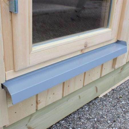 Protector ventanas   Caseta de madera habitable Annika 21,5 m²