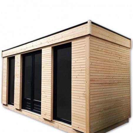 MiniCasa de madera habitable 16,70m² - Hortum