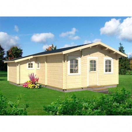 Casa de madera prefabricada Emily 39,2 m²
