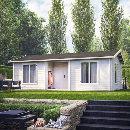 Casa de madera habitable Anna 26,8+1,9 m²