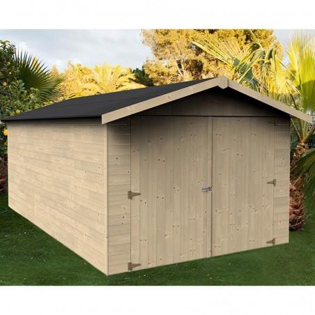 Garaje madera Brisa. 15mm 273x460cm. 12.57m²