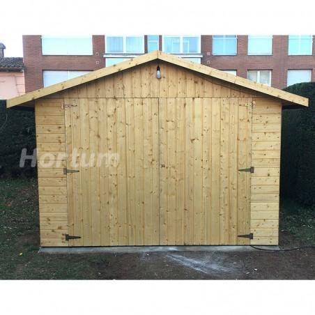 Garaje de madera Gapadan 15mm, 300 x 500 cm. 15,51 m²