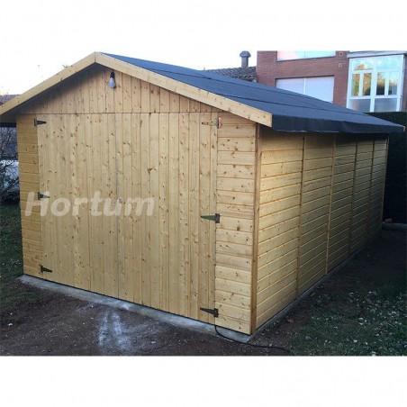 Garaje prefabricado Gapadan 15mm, 300 x 500 cm. 15,51 m²