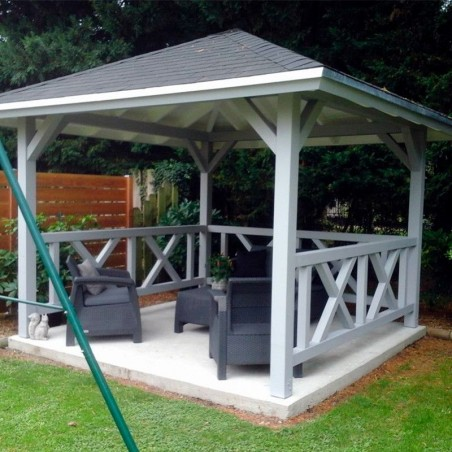 Cenador pérgola Betty, 9.0 m²